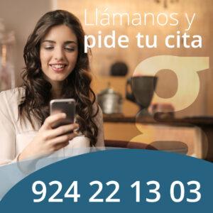 Pide tu cita por teléfono