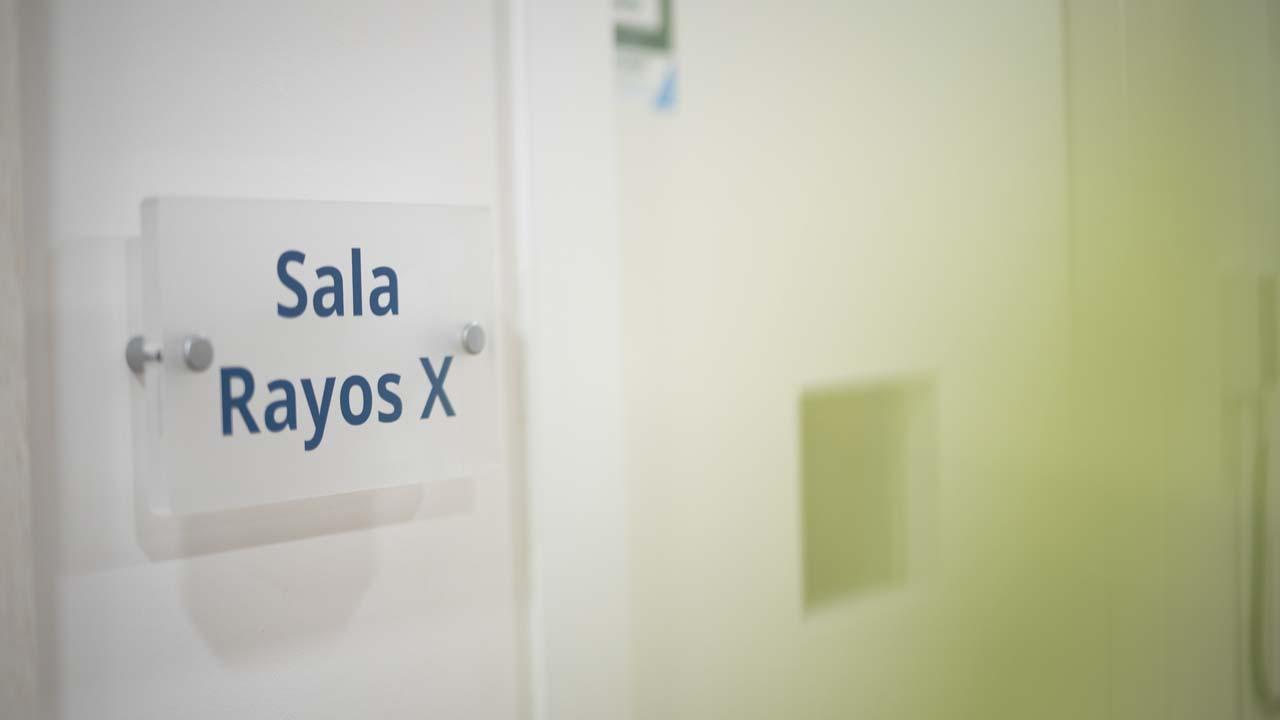 Sala rayos X Clínica Dental Giralt Badajoz